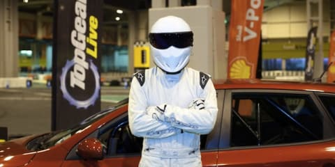 Former Top Gear Stig takes up James Bond stunt driving