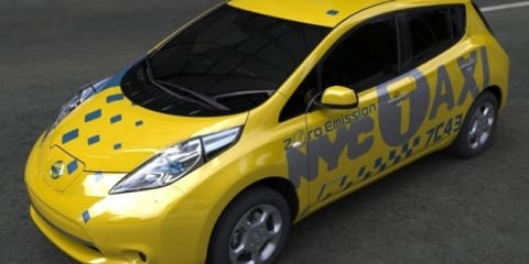 Nissan LEAF taxi cabs to be trialed in New York