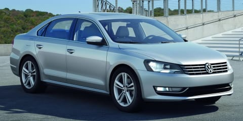 2012 Volkswagen New Midsized Sedan unveiled as US Passat
