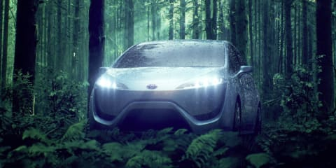 Toyota FCV-R concept: 'ultimate hybrid car' teased