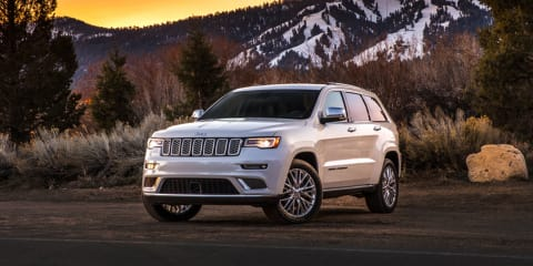 2017 Jeep Grand Cherokee Summit update leaked