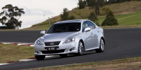 Lexus IS 350 coming to Australia