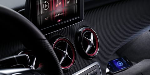 Mercedes-Benz A-Class takes iPhone integration to new levels