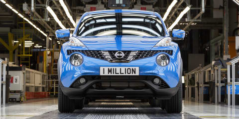 Nissan Juke hits one million units
