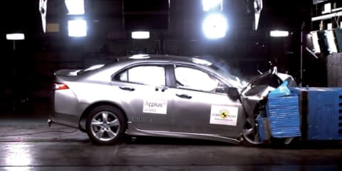 Honda Accord Euro receives five-star EuroNCAP rating - again!