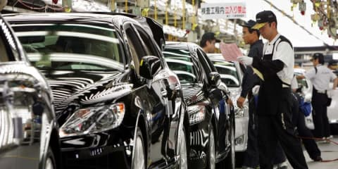Toyota, Nissan, Honda global production strong in April