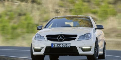 2012 Mercedes-Benz C 63 AMG coupe coming to Australia