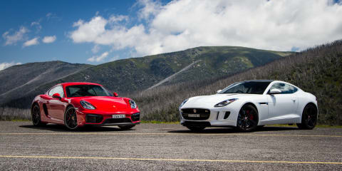 Jaguar F-Type S Coupe v Porsche Cayman GTS : Comparison review
