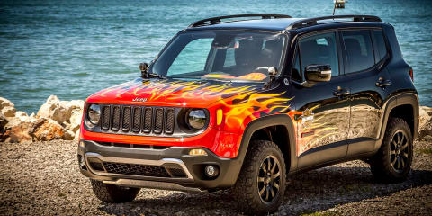 Jeep Renegade Hell's Revenge concept unveiled