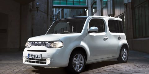 Nissan Cube set for UK streets in 2010