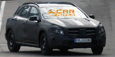 Mercedes-Benz GLA-Class: first look at baby SUV