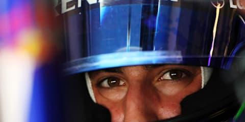 Australian Daniel Ricciardo faster than Vettel in F1 rookie testing