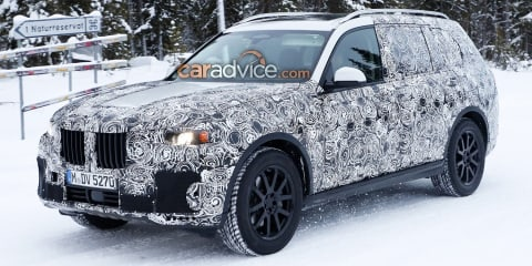 BMW X7 fuel-cell concept to debut in Frankfurt - report
