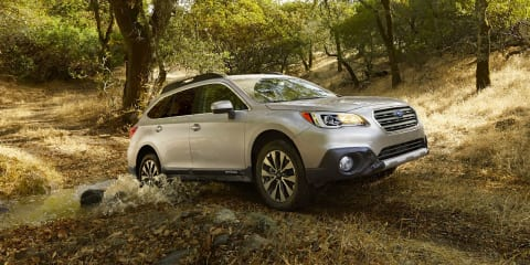 2015 Subaru Outback revealed