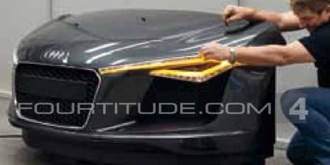 2012 Audi R8 facelift revealed?
