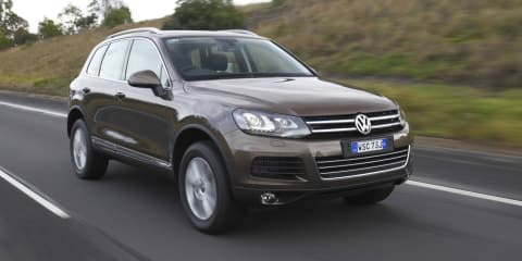 2012 Volkswagen Touareg at Australian International Motor Show 2011