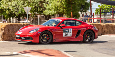 The Porsche Targa High Country Tour in a 718 Cayman GTS