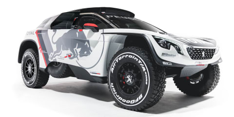 2017 Peugeot 3008 DKR: twin-turbo, rear-drive SUV revealed for 2017 Dakar Rally