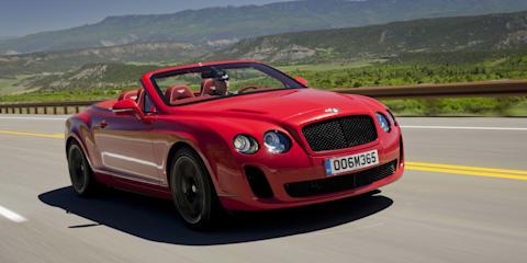 2010 Bentley Supersports Convertible
