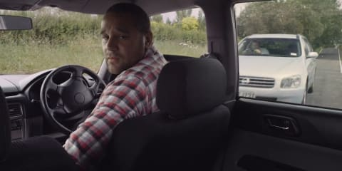 New Zealand road safety ad highlights driver 'mistakes'