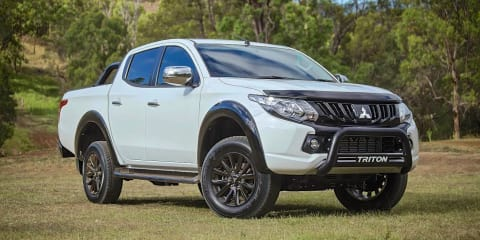 2017 Mitsubishi Triton GLS Sports Edition on sale