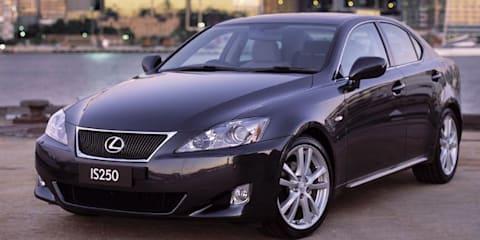 Lexus IS250, GS300 recalled for fuel pressure sensor fix