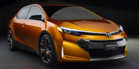 Toyota Corolla Furia concept previews new small sedan