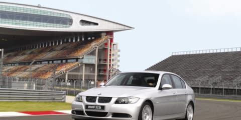 BMW 323i challenges 'Benz and Audi