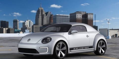 Volkswagen E-Bugster electric concept unveiled
