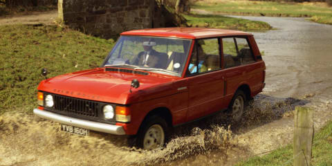Range Rover turns 45:: a look at an icon