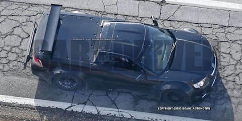 Holden Ute:: pumped Aussie test mule for next-gen mid-engine Corvette spied