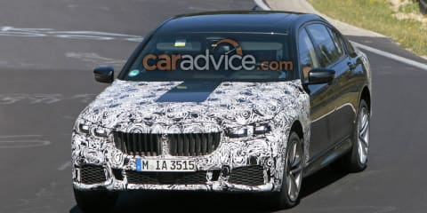 2019 BMW 7 Series facelift spied with huge new grille