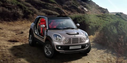 Mini Moke Beachcomber concept could go into production