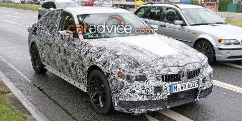 2018 BMW 3 Series interior and exterior spied