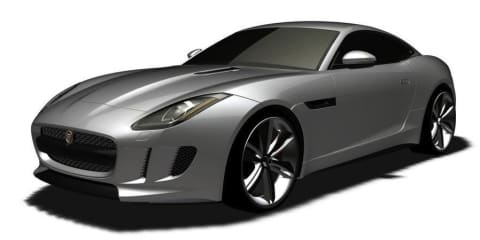 Jaguar F-Type coupe revealed in patent images