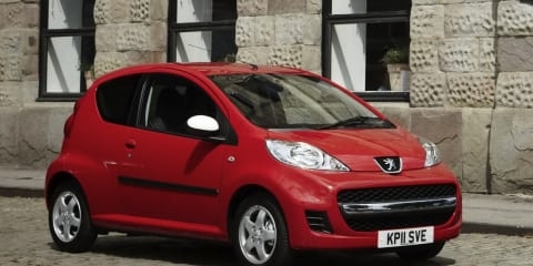 2011 Peugeot 107 Sportium Special Edition released in UK