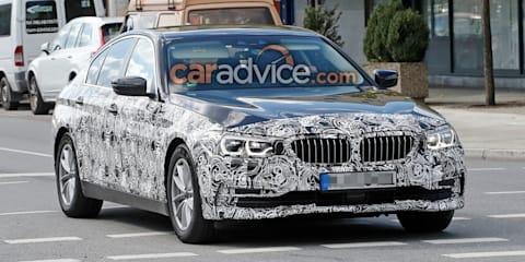 2017 BMW 5 Series sedan spied showing more skin