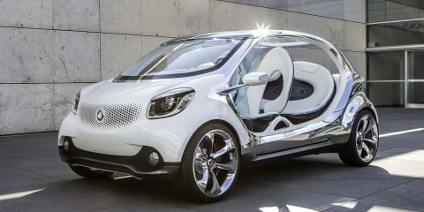 Smart FourJoy concept: doorless city buggy revealed