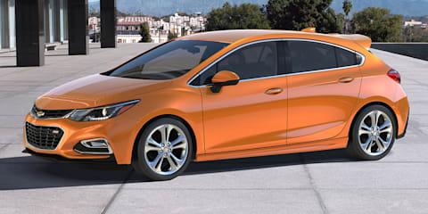 2016 Chevrolet Cruze hatchback revealed