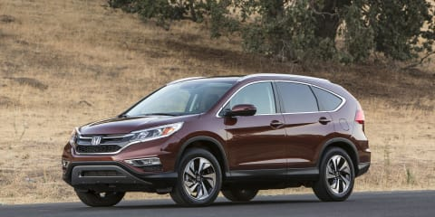 2015 Honda CR-V facelift revealed in full in the US