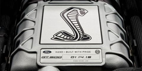 Ford teases new Mustang Shelby GT500