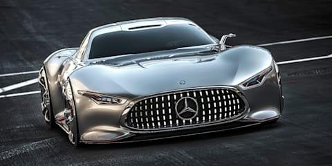 Mercedes-Benz AMG Vision Gran Turismo: virtual racer revealed