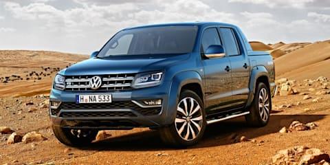 2017 Volkswagen Amarok gets V6 diesel power