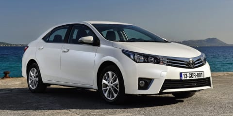 2014 Toyota Corolla sedan to be imported from Thailand in February