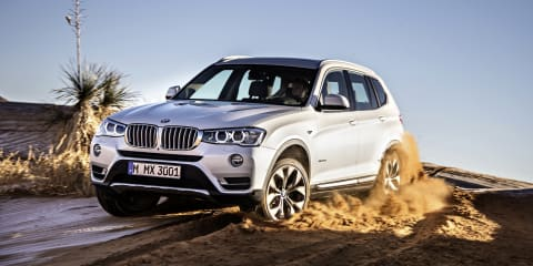 2014 BMW X3 pricing and specifications