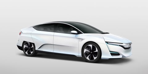 Honda FCV Concept previews new hydrogen fuel-cell car due in 2016