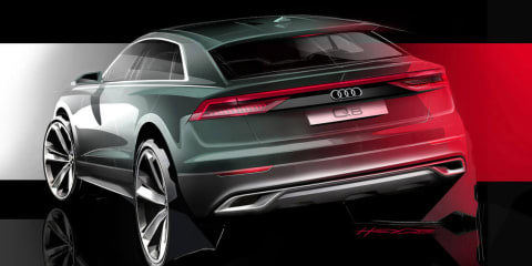 Audi Q8 teased again – video
