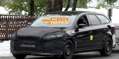 2013 Ford Mondeo mule spy photos