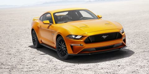 2018 Ford Mustang revealed with new face and more power