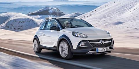 Opel Adam Rocks : Urban mini crossover revealed